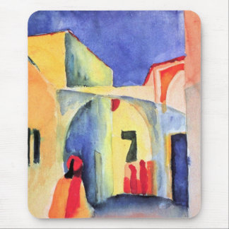 August Macke - View into a Lane Mouse Pad