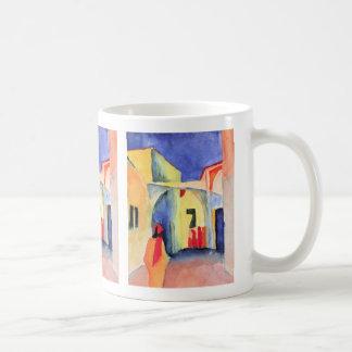 August Macke - View into a Lane Mug