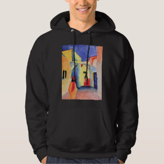 August Macke - View into a Lane Sweatshirt