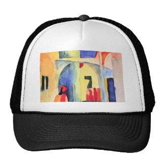 August Macke - View into a Lane Trucker Hat