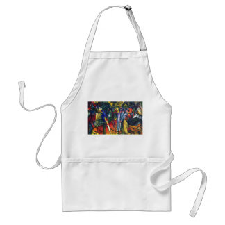 August Macke - Zoological Garden I Adult Apron