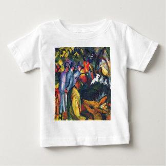August Macke - Zoological Garden I Baby T-Shirt