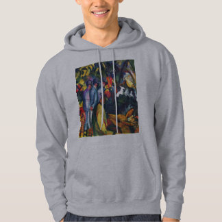 August Macke - Zoological Garden I Hoodie