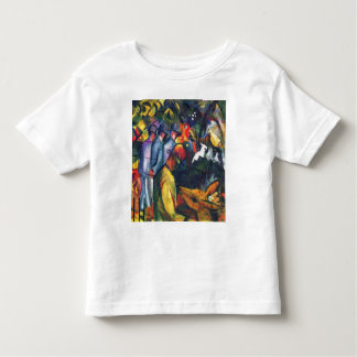 August Macke - Zoological Garden I Toddler T-shirt