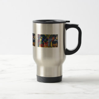 August Macke - Zoological Garden I Travel Mug