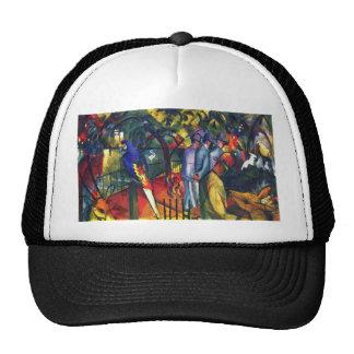 August Macke - Zoological Garden I Trucker Hat