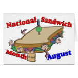 August- National Sandwich Month Cards