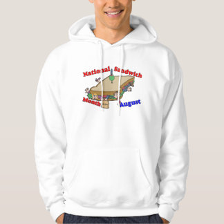 August- National Sandwich Month Hoodie