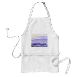 August Noon by Guy Rose Adult Apron