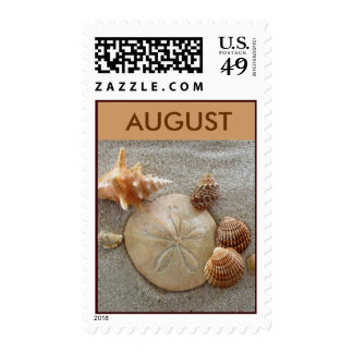 August Postage Stamps