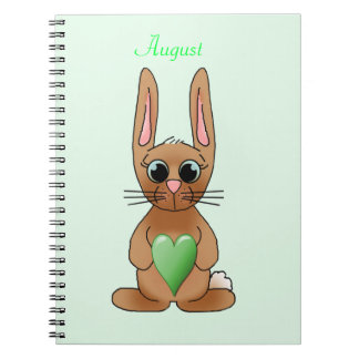 August Rabbit Notebook