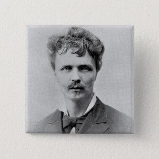 August Strindberg, 1st January, 1884 Button