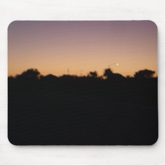 August  sunset mouse pad