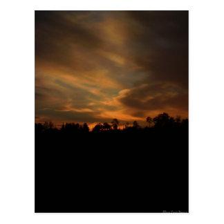 August Sunset Postcard