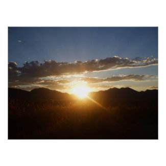 August Sunset Print