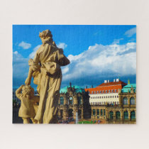 August The  Strong Dresden Germany. Jigsaw Puzzle
