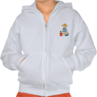 August Toddler on Summer Beach Holiday Baby Girl Hoody