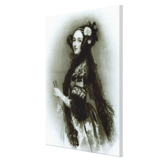 Augusta Ada Byron  Countess of Lovelace Canvas Print