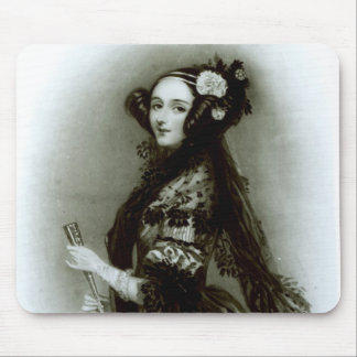 Augusta Ada Byron  Countess of Lovelace Mouse Pad
