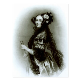 Augusta Ada Byron  Countess of Lovelace Postcard