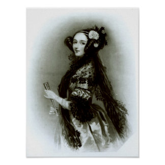 Augusta Ada Byron  Countess of Lovelace Poster