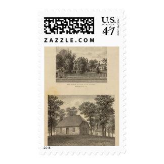 Augusta Church Stuart residence Stamp