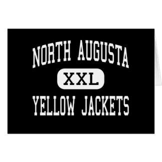 Augusta del norte - chaquetas amarillas - Augusta  Felicitacion