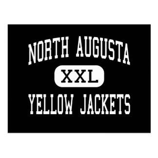 Augusta del norte - chaquetas amarillas - Augusta  Tarjetas Postales