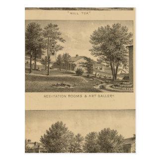 Augusta Female Seminary, Virginia Postcard