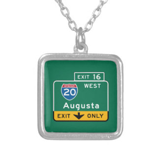 Augusta, GA Road Sign Custom Jewelry
