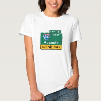 Augusta, GA Road Sign T-shirt