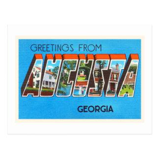 Augusta Georgia GA Old Vintage Travel Postcard- Postcard