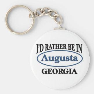 Augusta Georgia Llaveros Personalizados