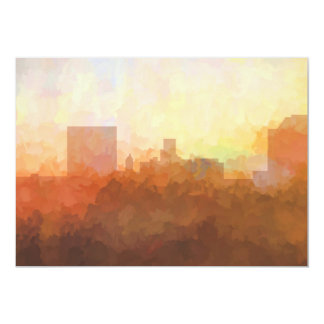 AUGUSTA, GEORGIA SKYLINE - Clouds-Greeting Cards