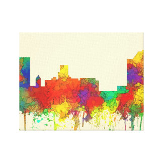 Augusta Georgia Skyline-SG Canvas Print