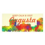 Augusta Georgia Skyline-SG Rack Card