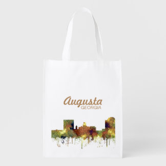 Augusta Georgia Skyline. SG-Safari Buff Grocery Bag