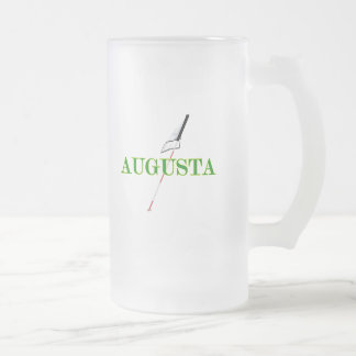 Augusta-Golf Frosted Glass Beer Mug