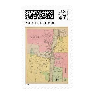 Augusta, Kennebec Co Stamp