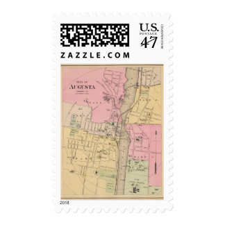Augusta, Kennebec County Stamp