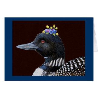 Augusta la tarjeta de felicitación del bribón