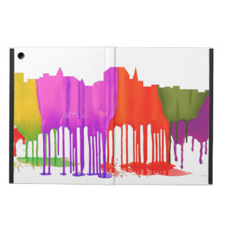 AUGUSTA, MAINE SKYLINE - PUDDLES COVER FOR iPad AIR