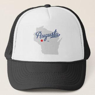 Augusta Wisconsin WI Shirt Trucker Hat