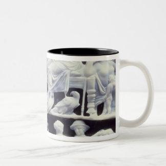Augustan cameo, after 10 AD Two-Tone Coffee Mug