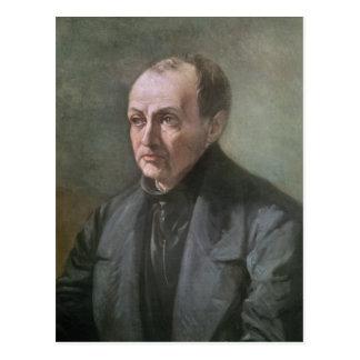 Auguste Comte Postcard