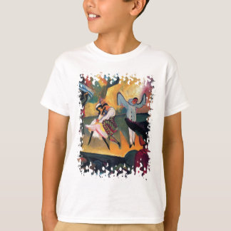 Auguste Macke - Russian Ballet Dancers on Stage T-Shirt
