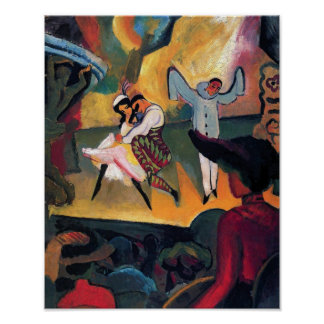 Auguste Macke - Russian Ballet Print