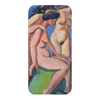 Auguste Macke Three Acts Cover For iPhone SE/5/5s