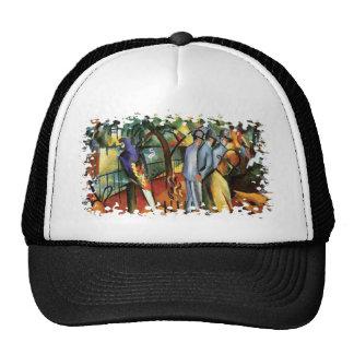 Auguste Macke - Zoological Garden Trucker Hat