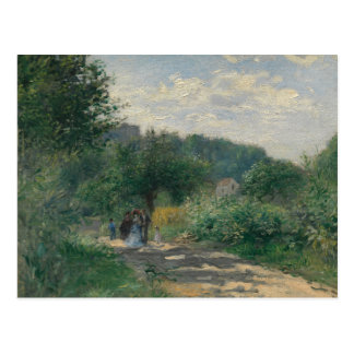 Auguste Renoir - A Road in Louveciennes Postcard